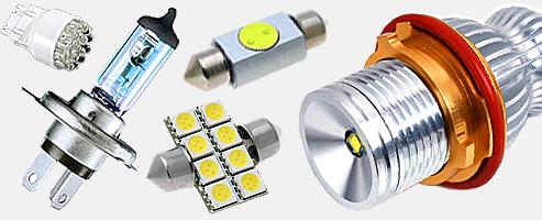 купить Led светодиодные лампы для авто лампы дневного света