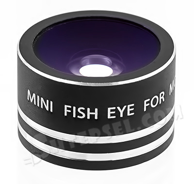 Объектив mini fisheye на Iphone, HTC, Samsung, Lenovo, Nokia, LG