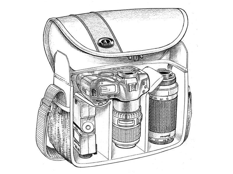 Сумка для фотоаппарата canon 600d